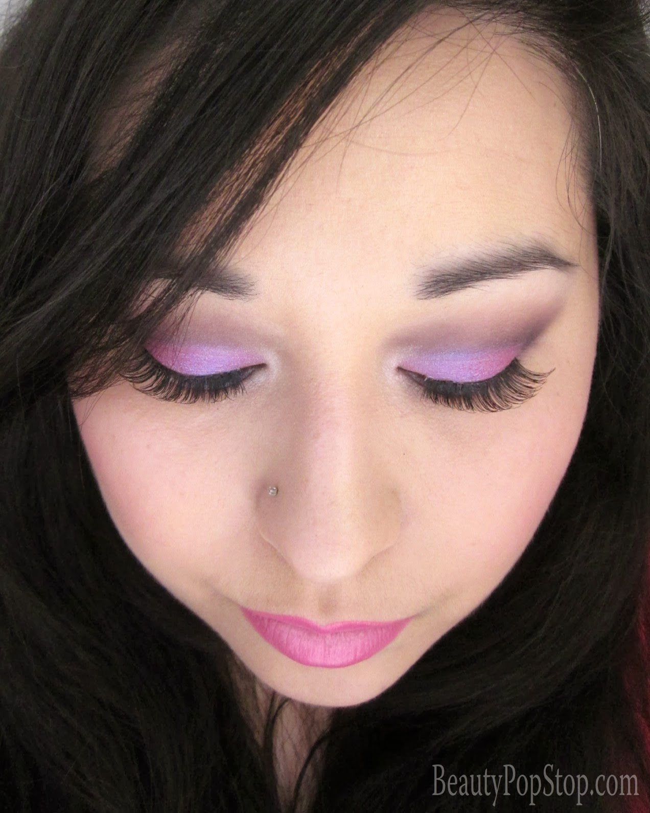 paul and joe beaute spring 2014 makeup tutorial using sugarpill, mac, make up for ever, inglot