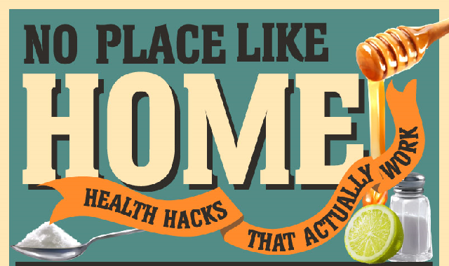 No Place Like Home: Health Hacks That Work #infographic