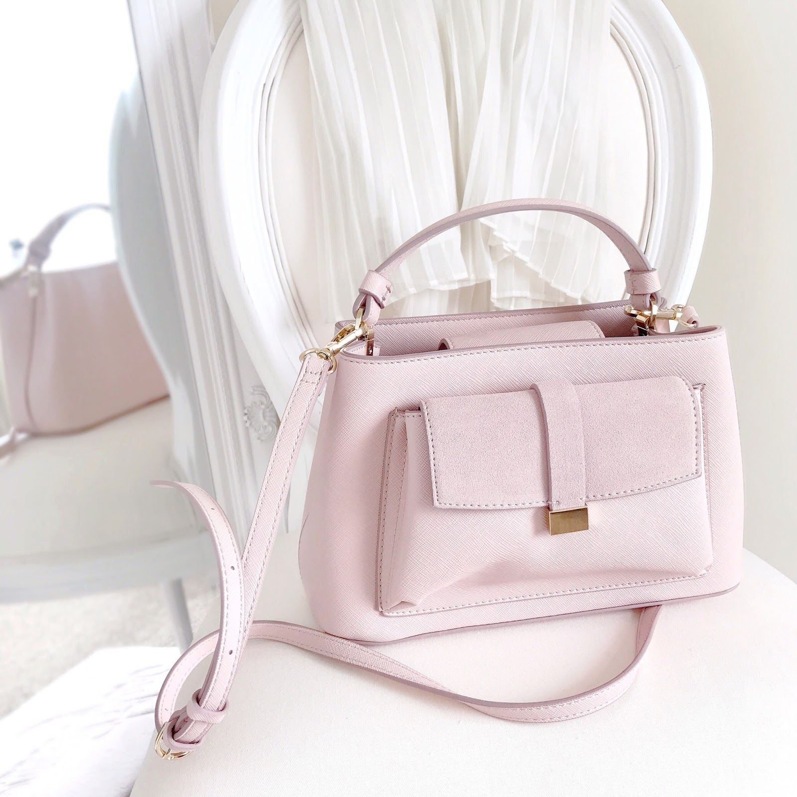 Zara Pink Mini City Bag | Love, Catherine