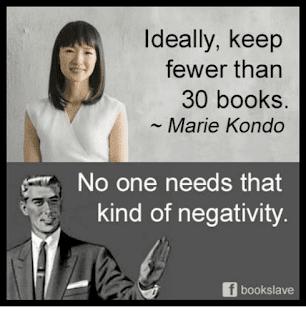 Marie Kondo book meme