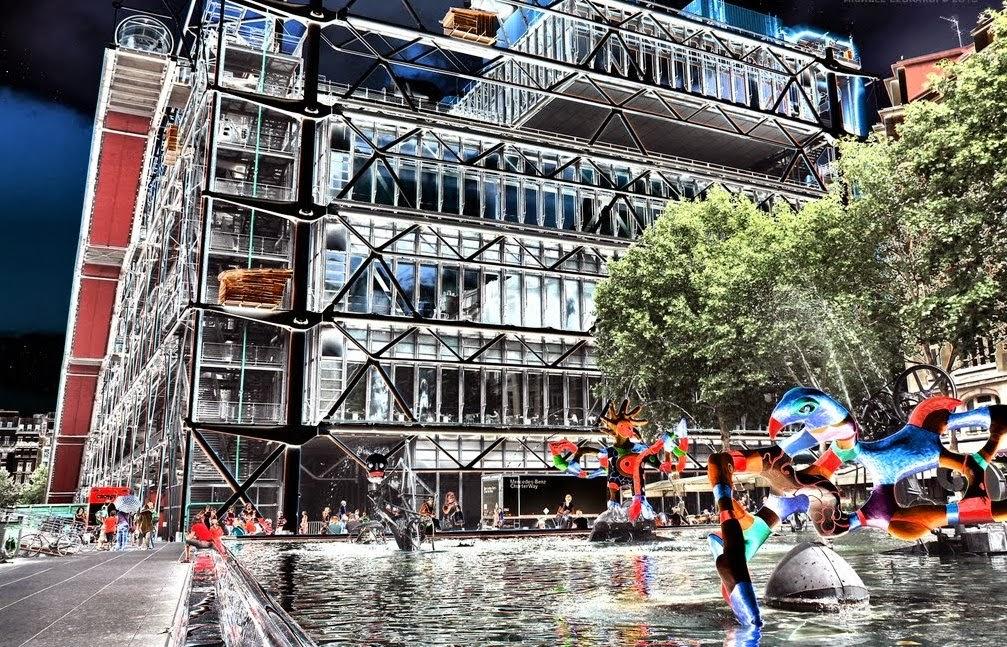 Centro Georges Pompidou em Paris