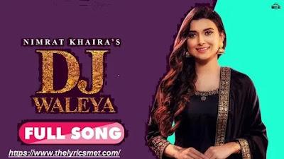 DJ Waaleya Song Lyrics | Roshan Prince | Latest Punjabi Songs 2020 | WHM