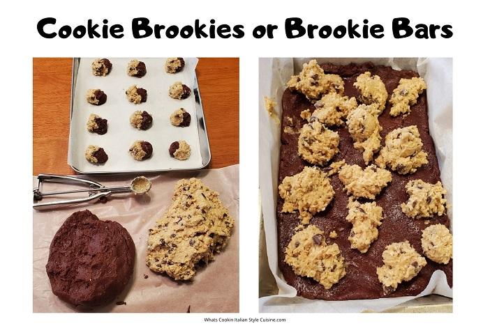 how to make cookie brookies