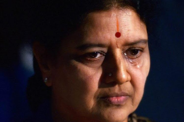 Is it an end of V.K Sasikala's Political career?