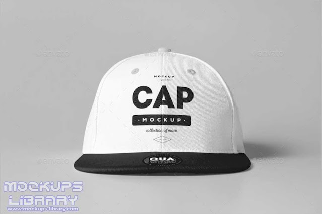 Clean Cap Mockup Design
