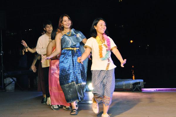 明道大學國際文化體驗 浪漫泰國水燈節