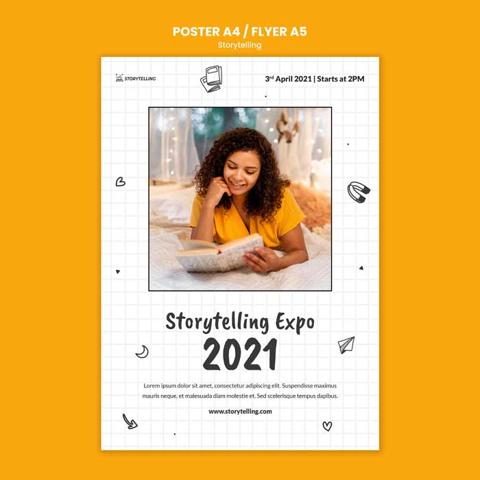 Storytelling Print Template