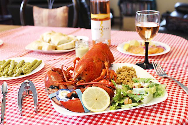 homard gaspésien souper local québécois