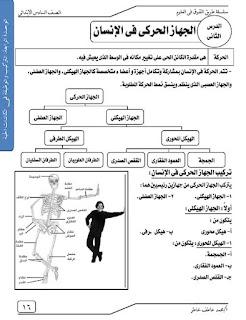 مذكرة علوم للصف السادس الابتدائي الترم الاول للاستاذ محمد عمر