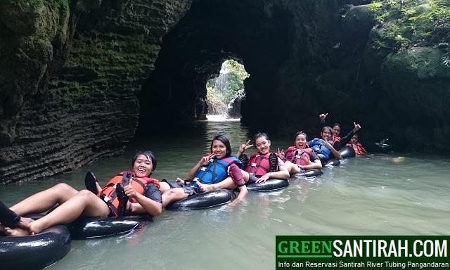 Paket Santirah River Tubing Pangandaran