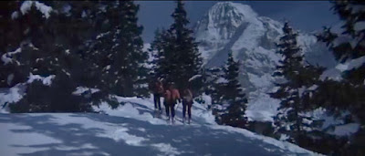 Ski scene from On Her Majesty's Secret Service