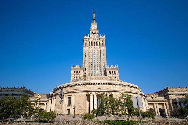 Palazzo della Cultura e della Scienza (Patac Kultury i Nauki)-Varsavia