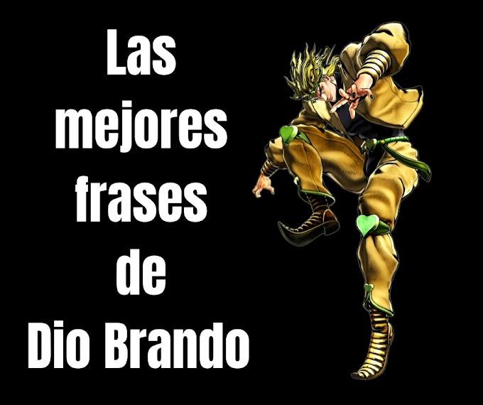 Las mejores Frases de Dio Brando, JoJo's Bizarre Adventure