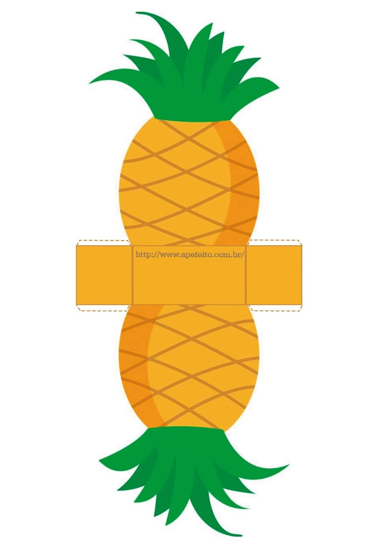 Caixinhas em formato de Frutas - Personalizados para festas tropical