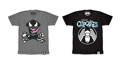 Marvel's Venom T-Shirt Collection by Johnny Cupcakes