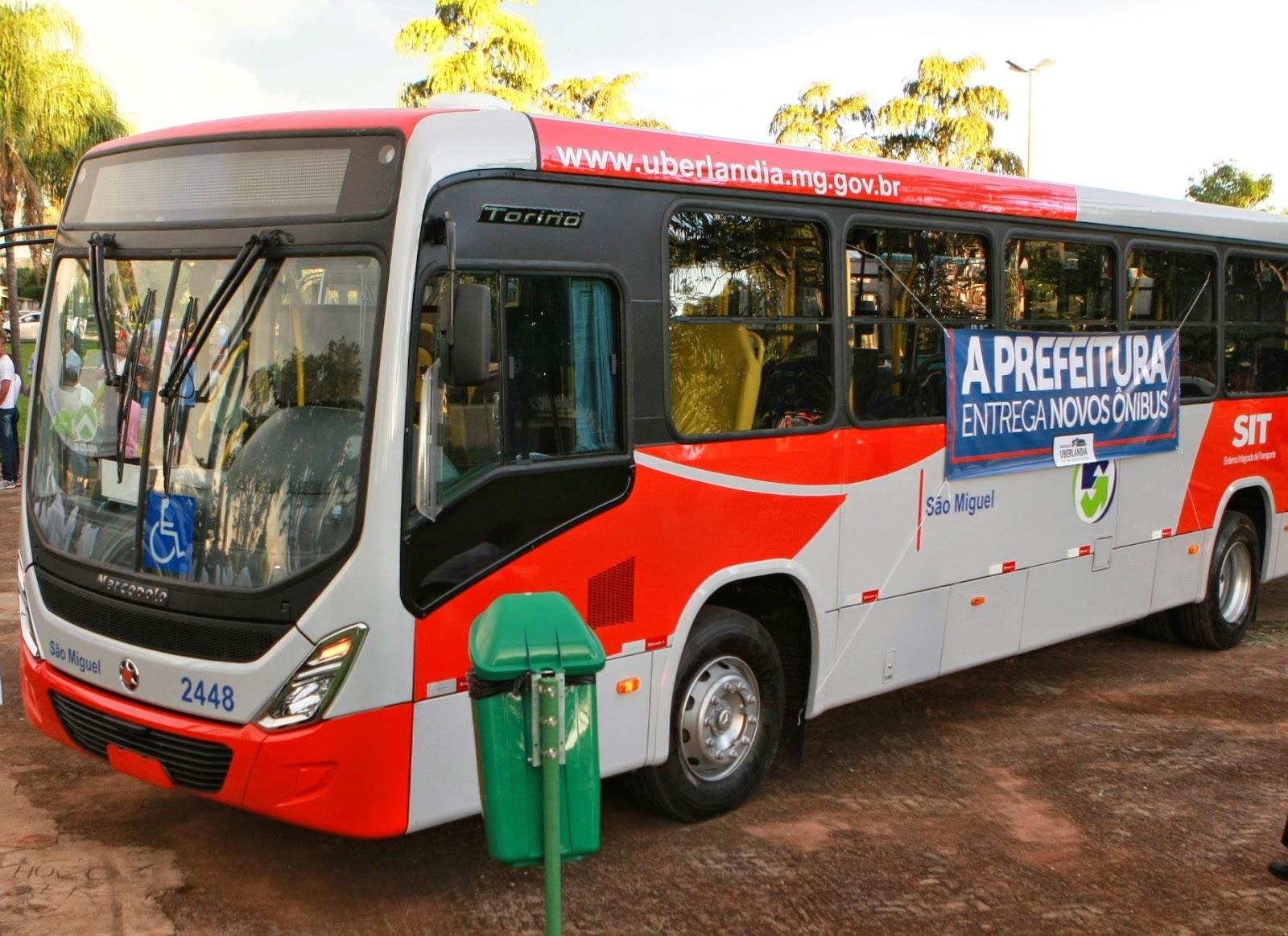 Meu Transporte: Prefeitura de Uberlândia entrega mais 34 ônibus novos à  população