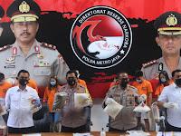 Ditresnarkoba Polda Metro Jaya Ungkap Kasus Sindikat Bisnis Liquid Vape Gunakan Narkoba
