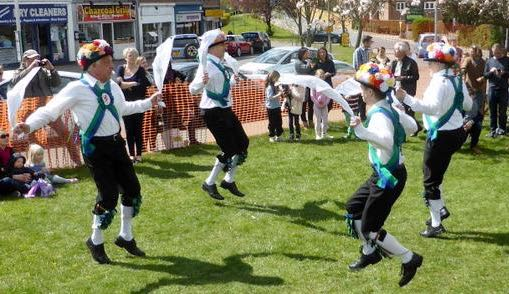 Image: Morris men at a previous Rotary May Day celebration Image courtesy of Brookmans Park Rotary Club