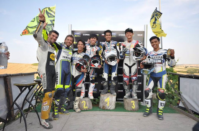 Galang Juarai Race The Master Camp VR46 Riders Academy
