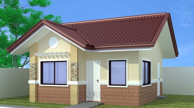 the estimated cost of house construction for a particular design and lay out of the above photos may vary based on the floor area and location - Small Houses Design