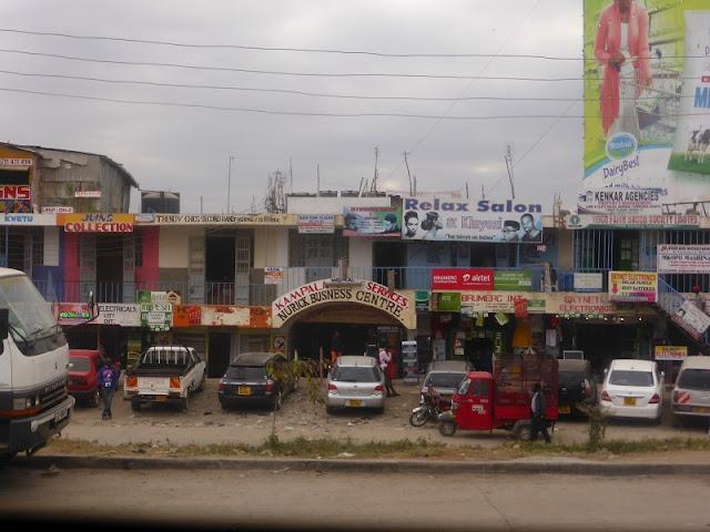 Calles de Kenya