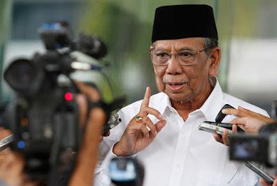 KH Hasyim Muzadi Wafat, Ini Pernyataan Tegas Almarhum tentang Ahok yang Menista Agama