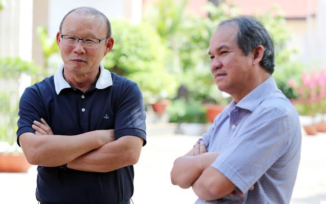 Chủ tịch Đoàn Nguyên Đức phục tài HLV Park Hang-seo sau chiến tích HCV SEA Games 30.