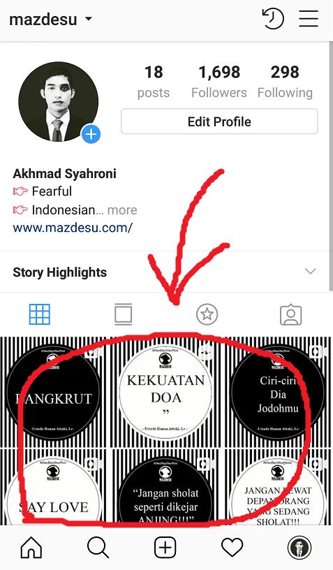 Pilih Postingan Instagram