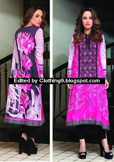 Hadiqa Kiani Midsummer Eid Lawn Collection 2015