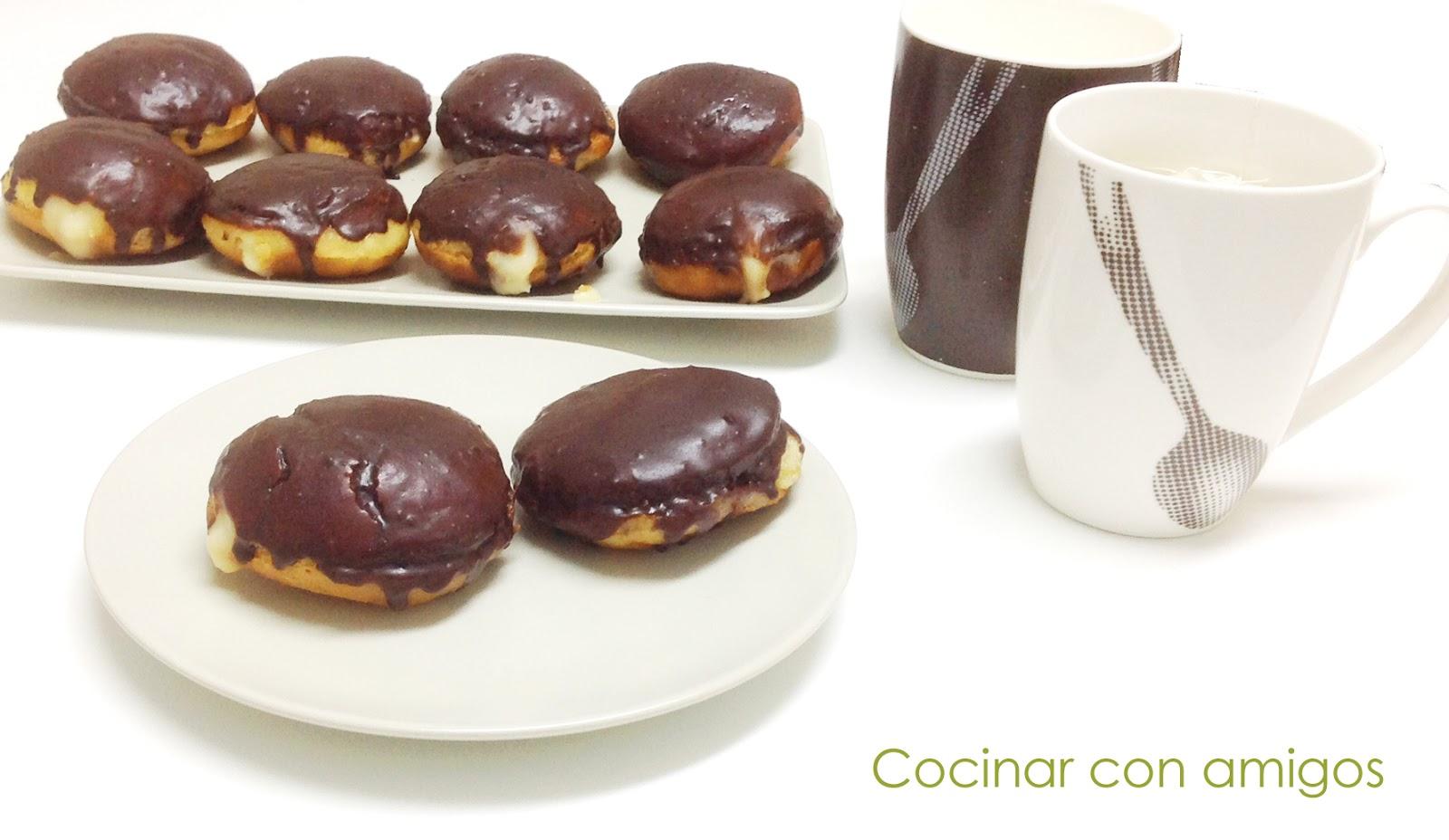 Boston cream donuts cocinar con amigos for Cocinar con 5 soles
