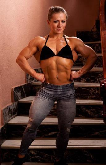 Olga Belyakova Female bodybuilding : - female bodybuilders 24