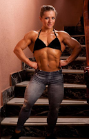 Olga Belyakova Female bodybuilding