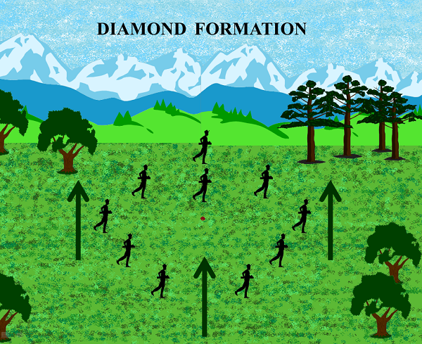 Diamond Formation Image
