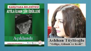 2017 Attilâ İlhan Şiir Ödülü Aslıhan Tüylüoğlu'nun