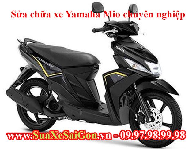 Sửa chữa xe Yamaha Mio chuyên nghiệp tại tp.HCM