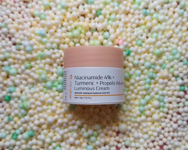 eBright Skin Niacinamide 4% + Turmeric + Propolis Advanced Luminous Cream
