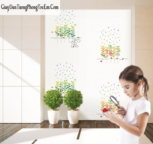 Giấy dán tường Hàn Quốc cho bé mã A5061-1