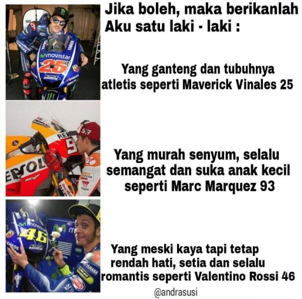 10 Meme Moto GP Ini Bikin Cepet Pengen Ngakak  LucuME