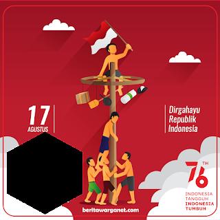 Twibbon Hari Kemerdekaan Republik Indonesia ke 76