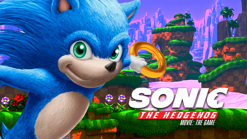 Sonic The Hedgehog Movie The Game Announced