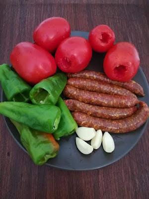 عجة مرقاز من المطبخ التونسي