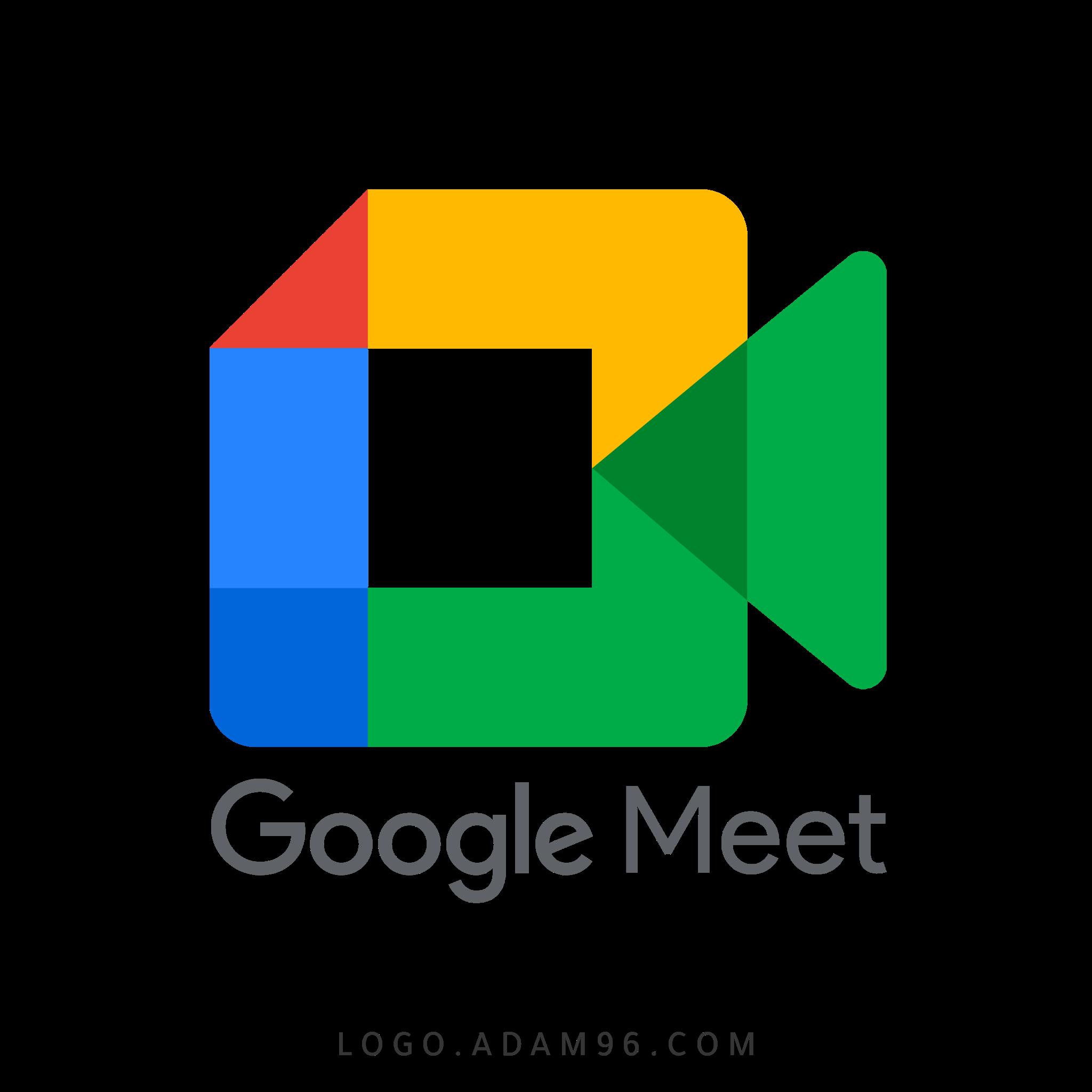 تحميل شعار جوجل مييت لوجو رسمي عالي الدقة بصيغة شفافة Logo Google Meet PNG