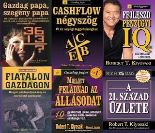 Robert T. Kiyosaki könyvek