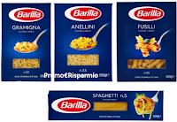 Logo Barilla : 60 confezioni da 500 gr. a soli € 0,71 a confezione e non solo !