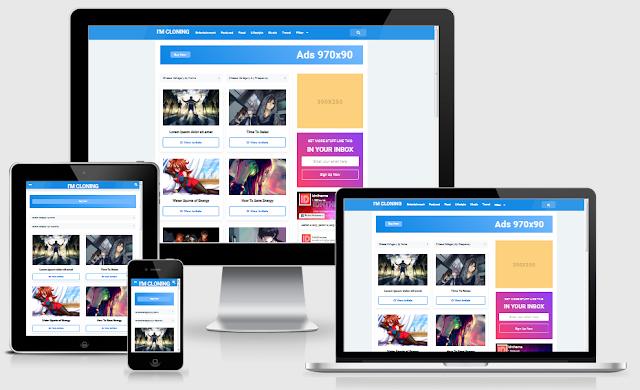 Download Template Editin Digizena Blogger Premium Gratis