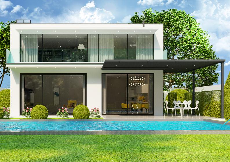 maison luxe infographie 3d