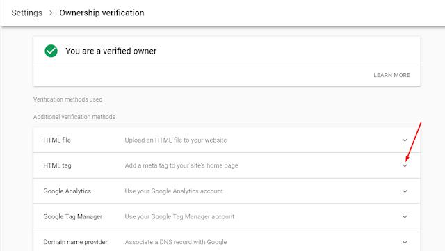 Cara Mendaftar Dan Verifikasi Webmaster Tools Di Blogger