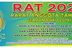 Rapat Anggota Tahunan 2020