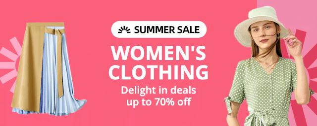 Дамски облекла  до -70%