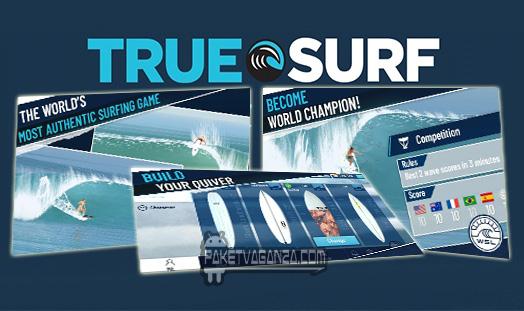True Surf 1.0.15 Apk + Mod Unlimited Money & Unlock All Items